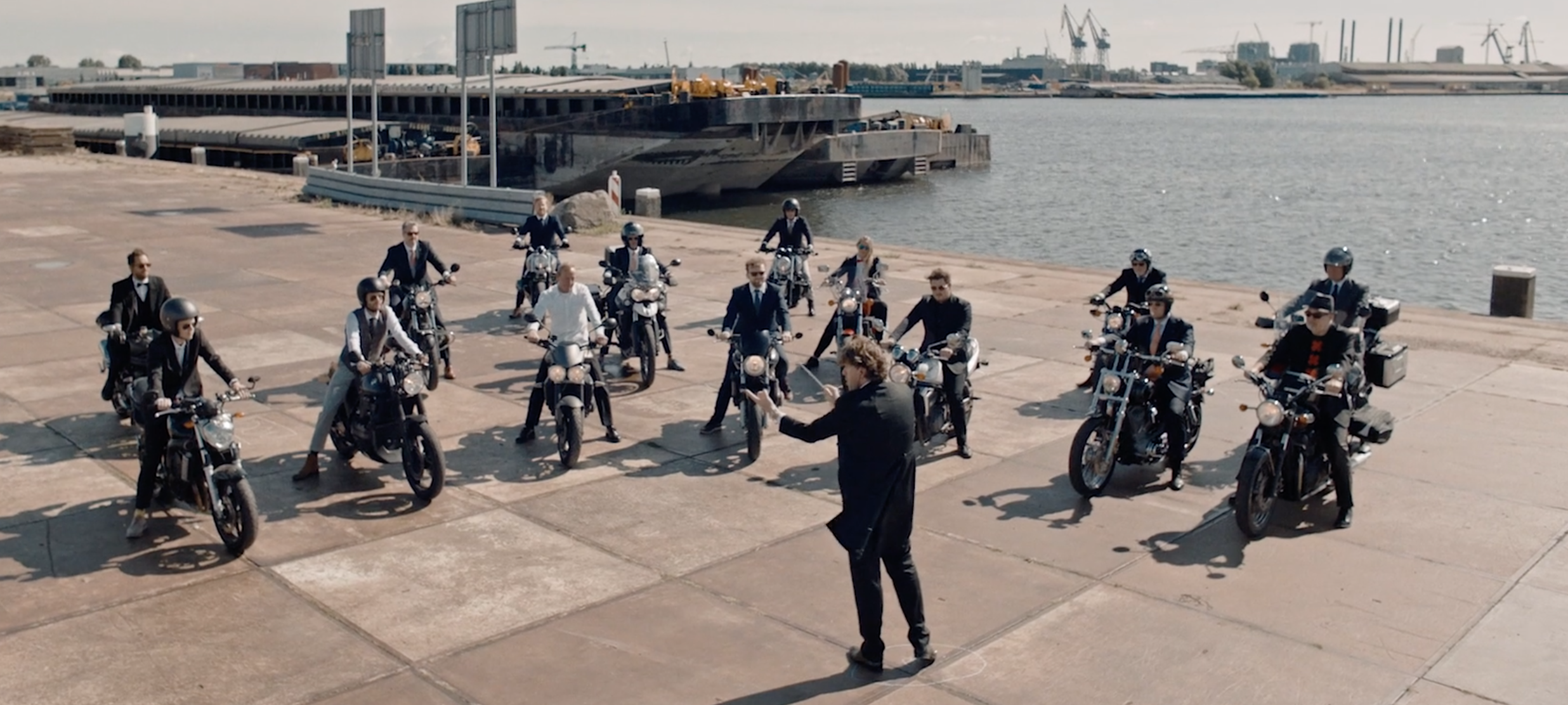 Distinguished Gentleman's Ride: The Motorcycle Symphony